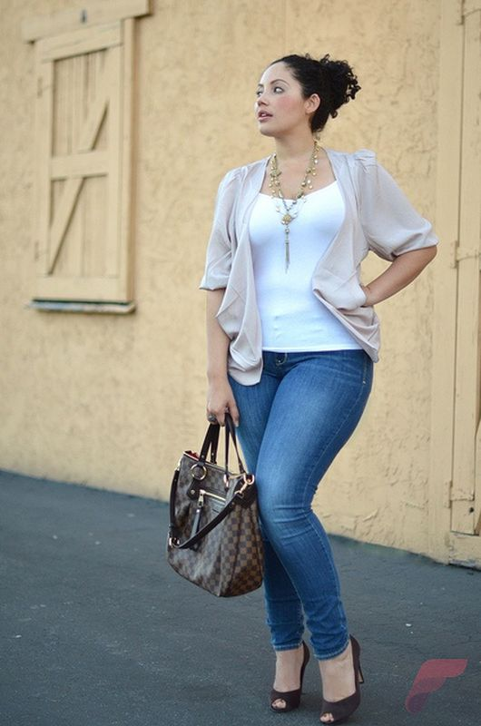Layering outfits plus size sweaters 33