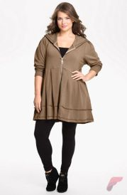 Layering outfits plus size sweaters 44