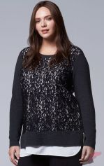 Layering outfits plus size sweaters 53