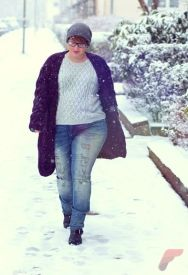 Layering outfits plus size sweaters 59