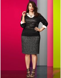 Layering outfits plus size sweaters 60