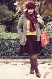 Layering outfits plus size sweaters 75