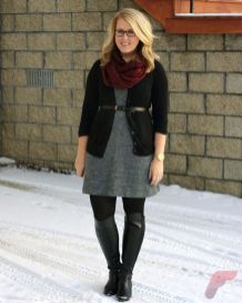 Layering outfits plus size sweaters 78