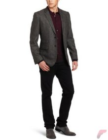 Men sport coat with jeans (117)