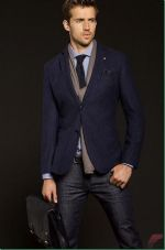 Men sport coat with jeans (121)