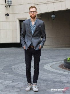 Men sport coat with jeans (125)