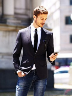 Men sport coat with jeans (128)