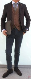 Men sport coat with jeans (146)