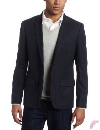Men sport coat with jeans (167)