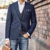 Men sport coat with jeans (20)