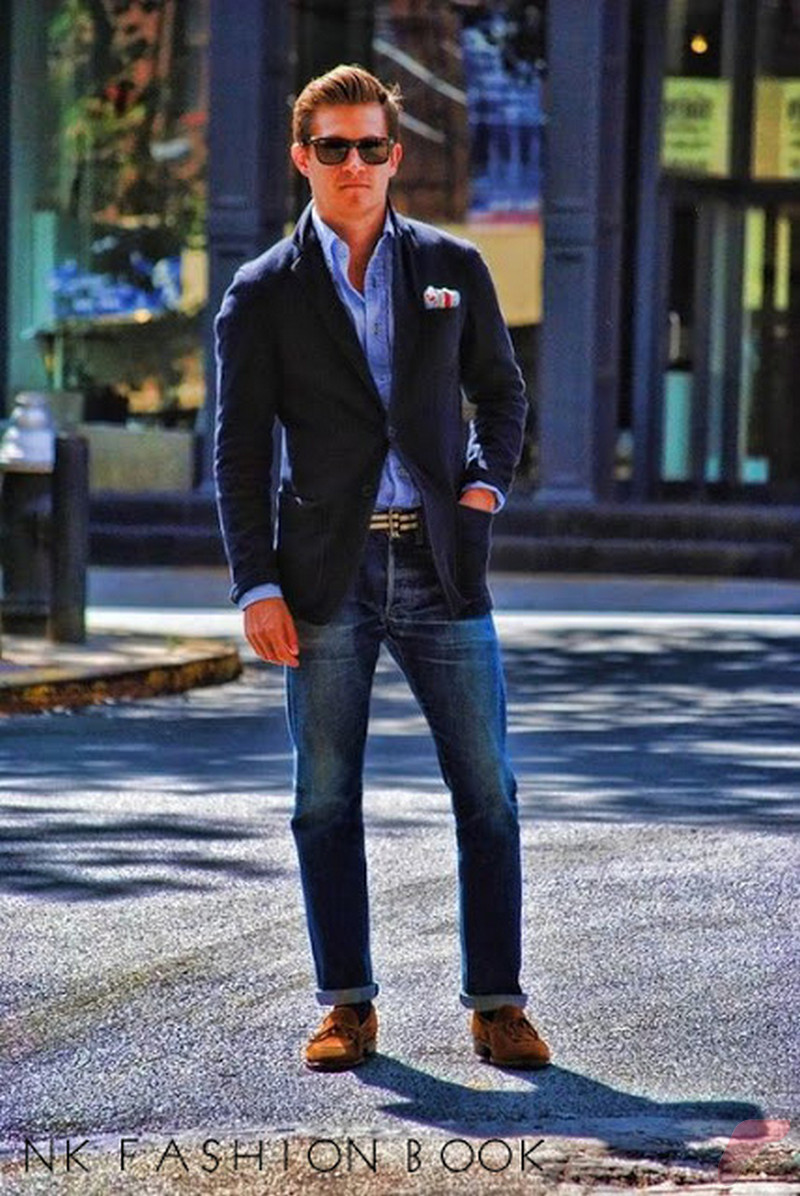 Men sport coat with jeans (3)