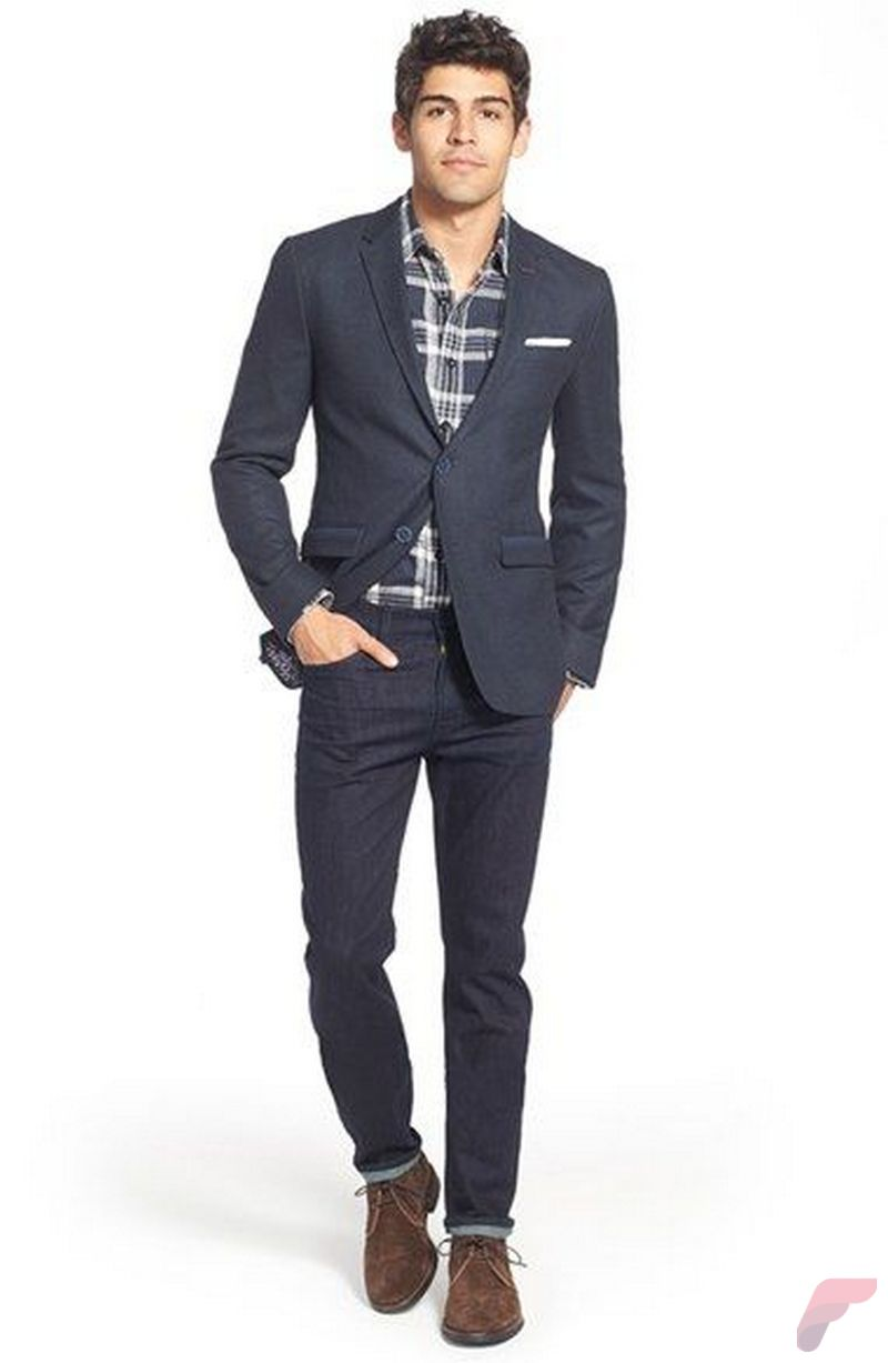 Men sport coat with jeans (33)