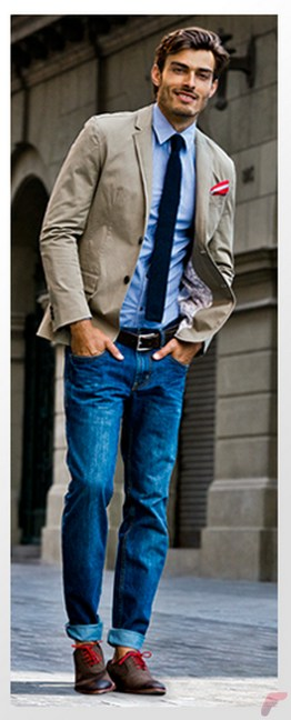 Men sport coat with jeans (45)