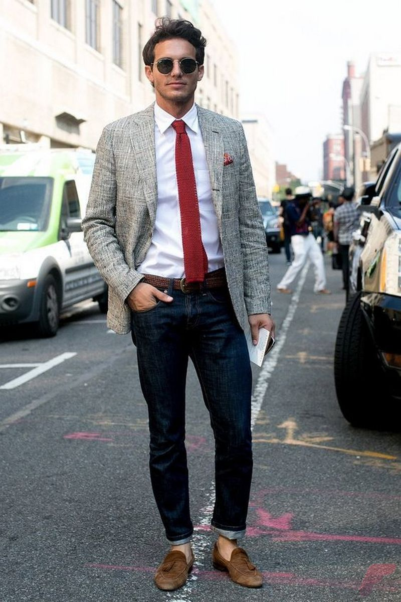Men sport coat with jeans (67)