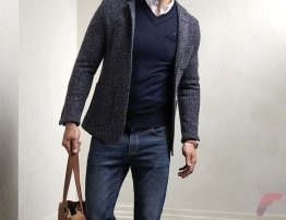 Men sport coat with jeans (74)