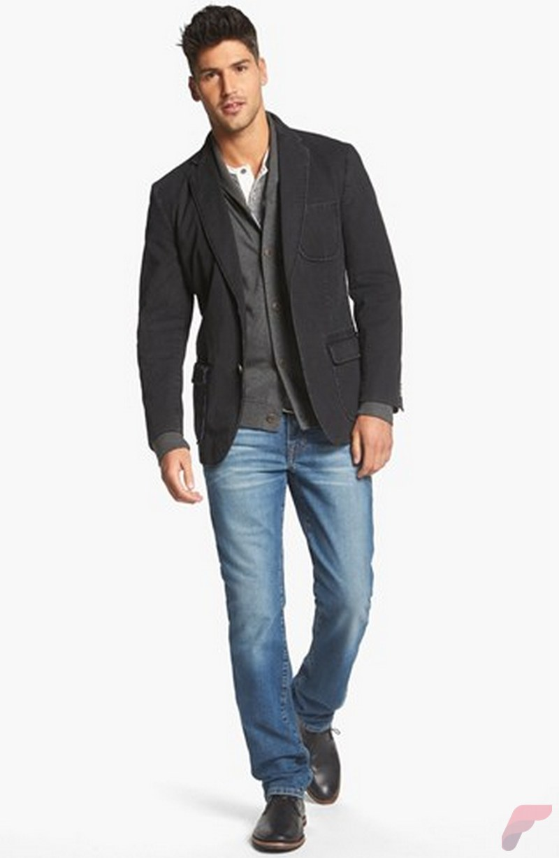 Men sport coat with jeans (78)