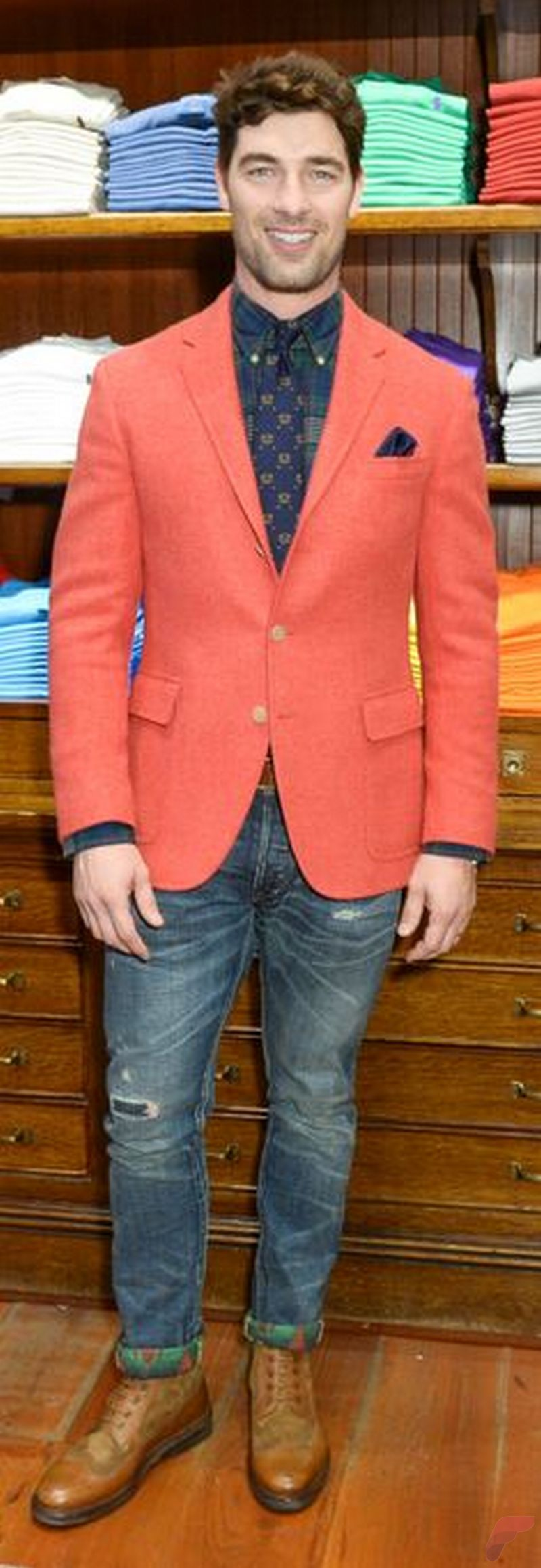 Men sport coat with jeans (85)