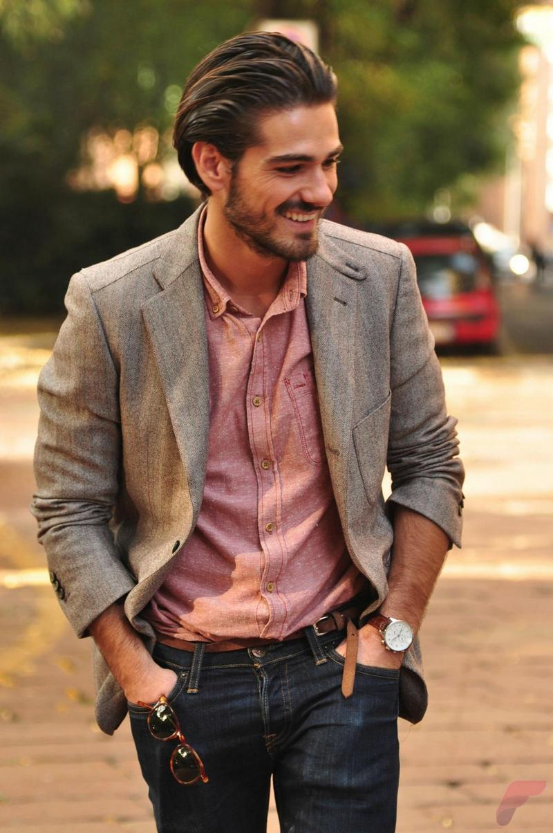 Men sport coat with jeans (87)