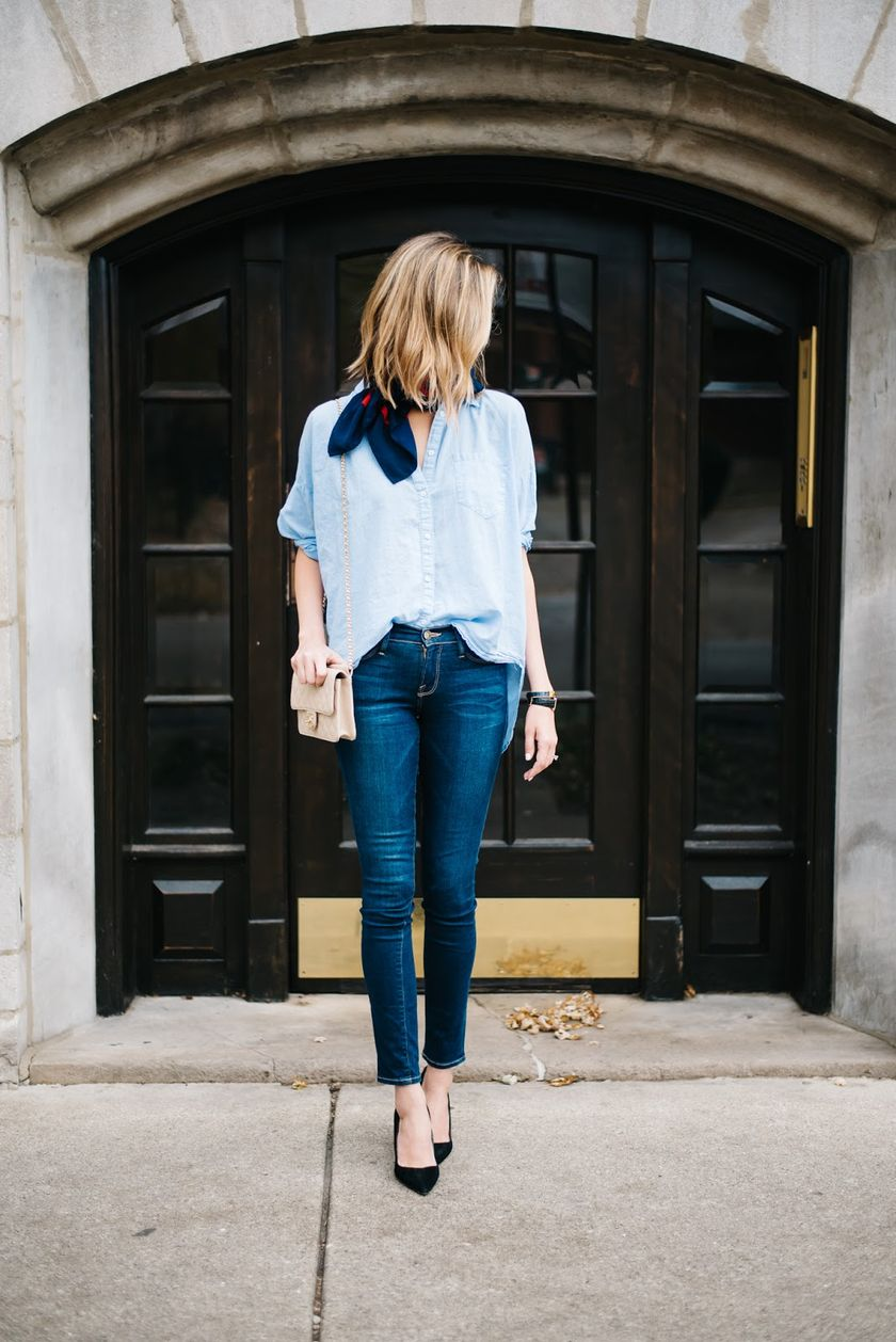 Simple casual french style outfits 11