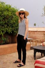 Simple casual french style outfits 23