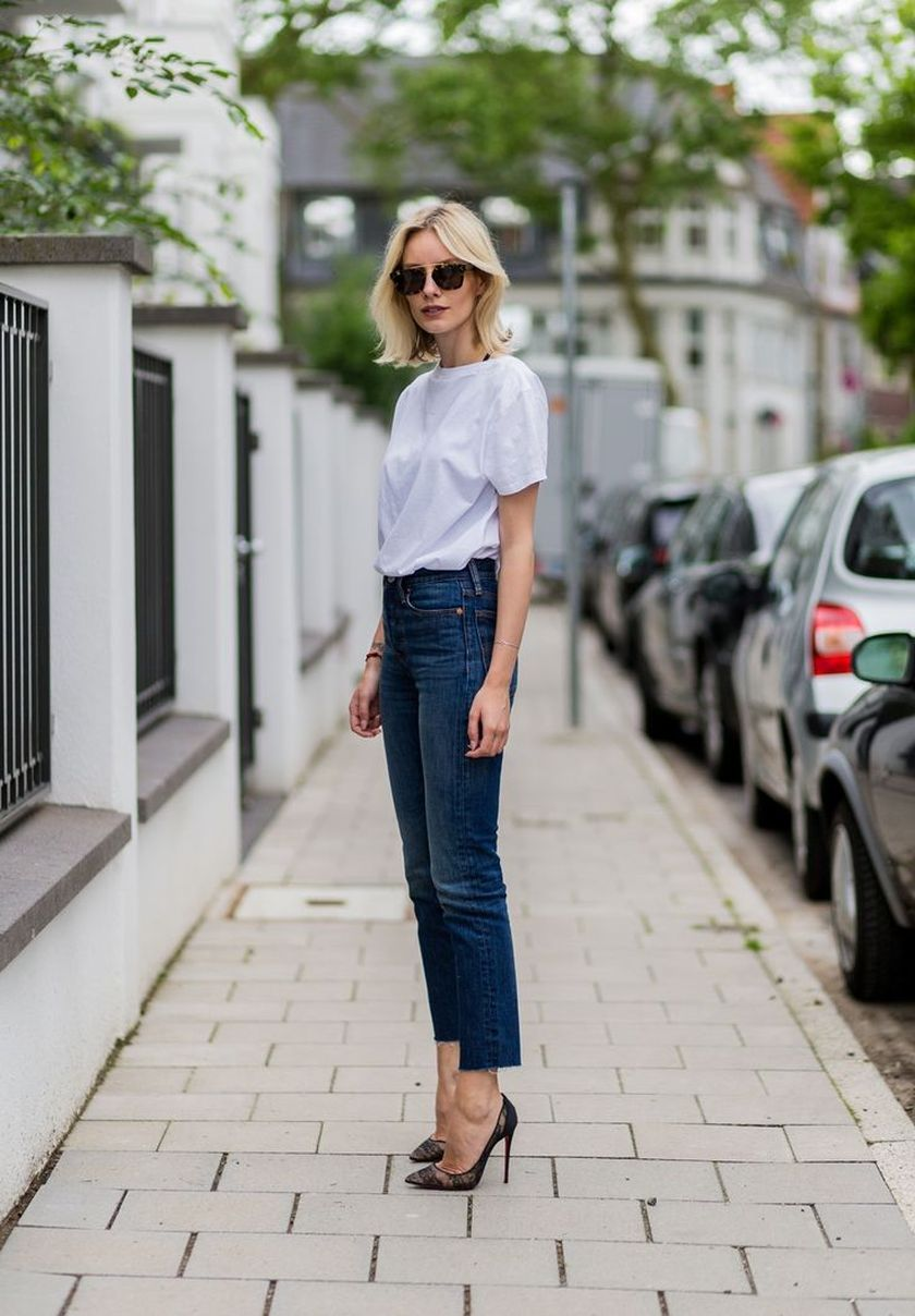 Simple casual french style outfits 45
