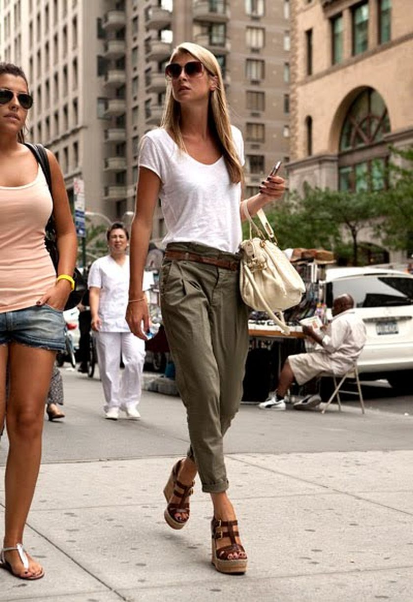 Simple casual french style outfits 5