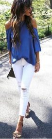 Simple casual french style outfits 50