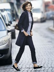 Simple casual french style outfits 67