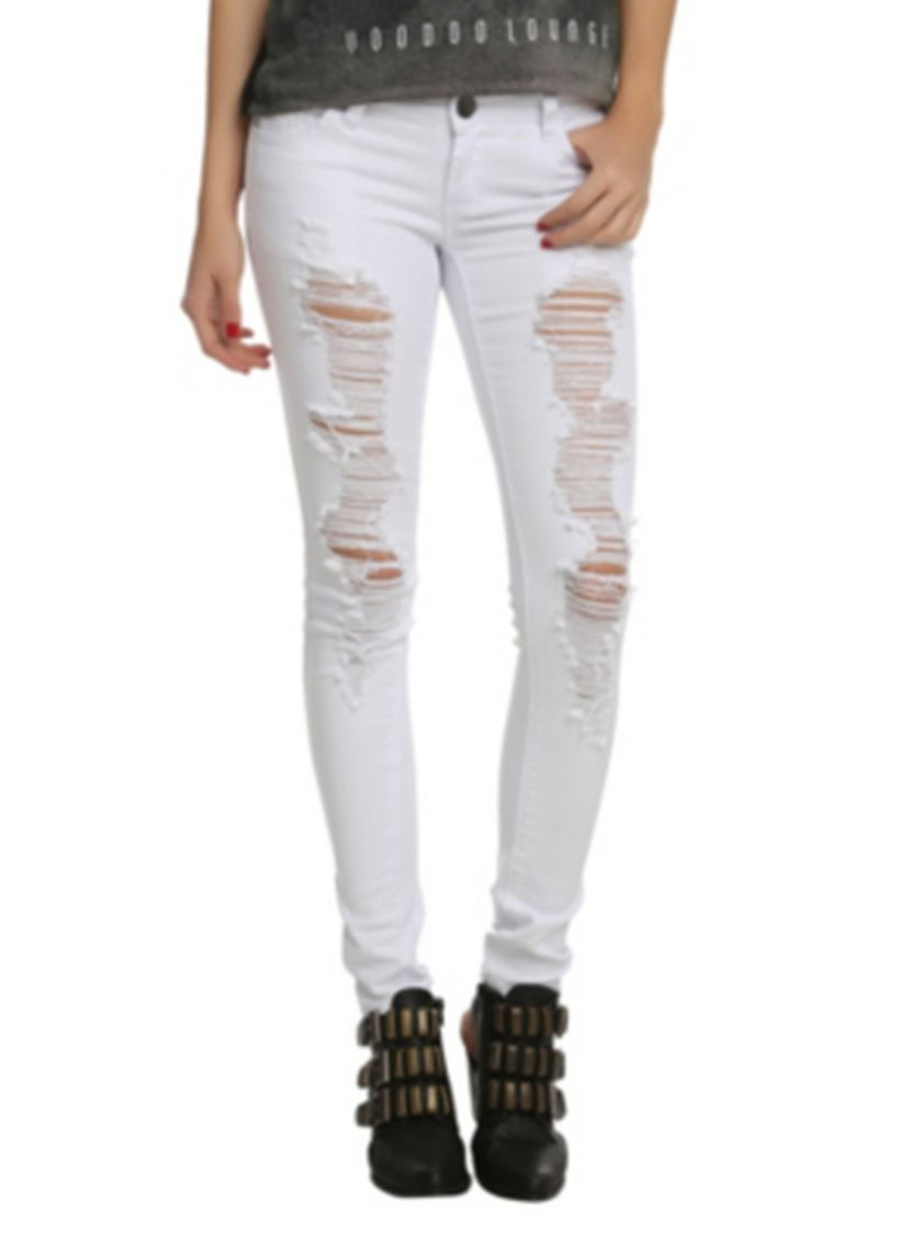 Skinny ripped jeans that will make you rock 12