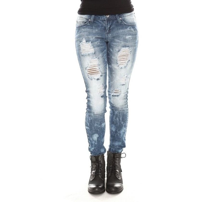Skinny ripped jeans that will make you rock 29