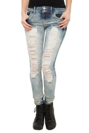 Skinny ripped jeans that will make you rock 31