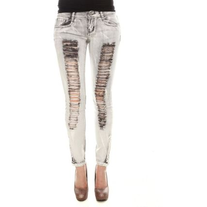 Skinny ripped jeans that will make you rock 32