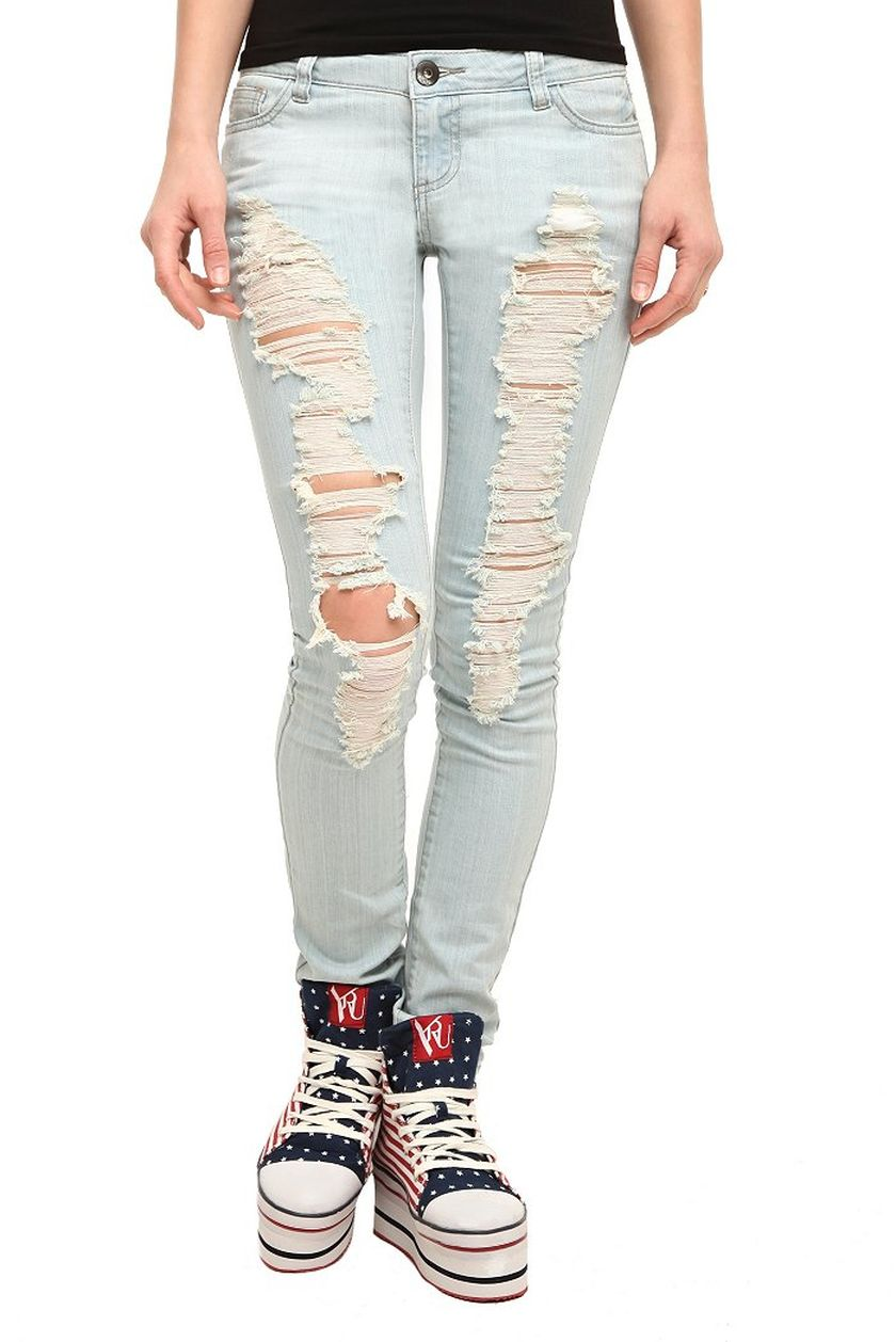 Skinny ripped jeans that will make you rock 33