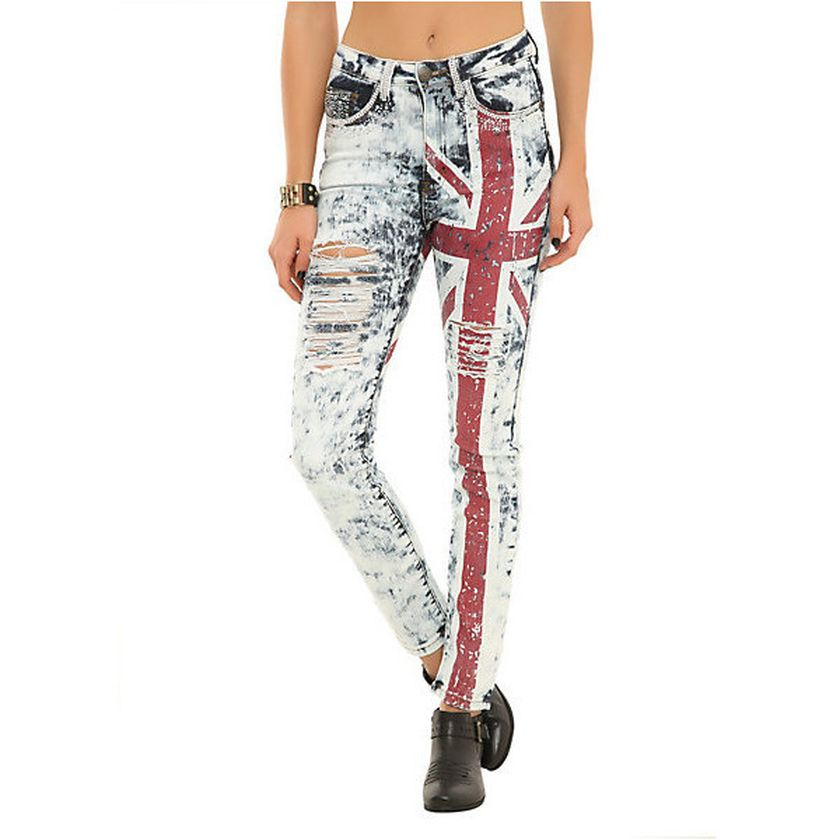 Skinny ripped jeans that will make you rock 34