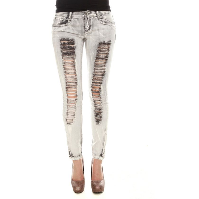Skinny ripped jeans that will make you rock 47
