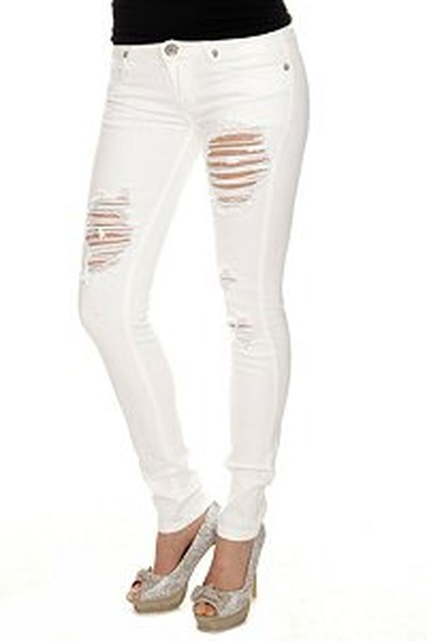 Skinny ripped jeans that will make you rock 53