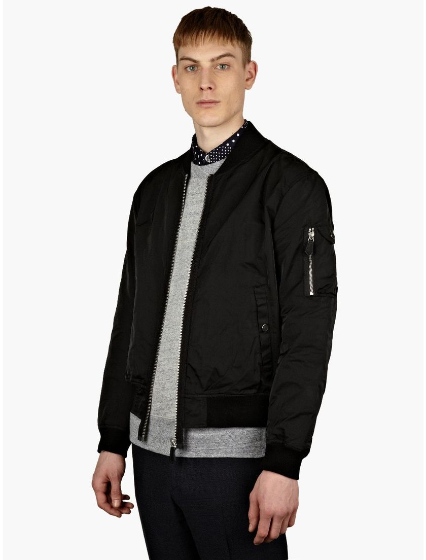 Top best model men bomber jacket outfit 11