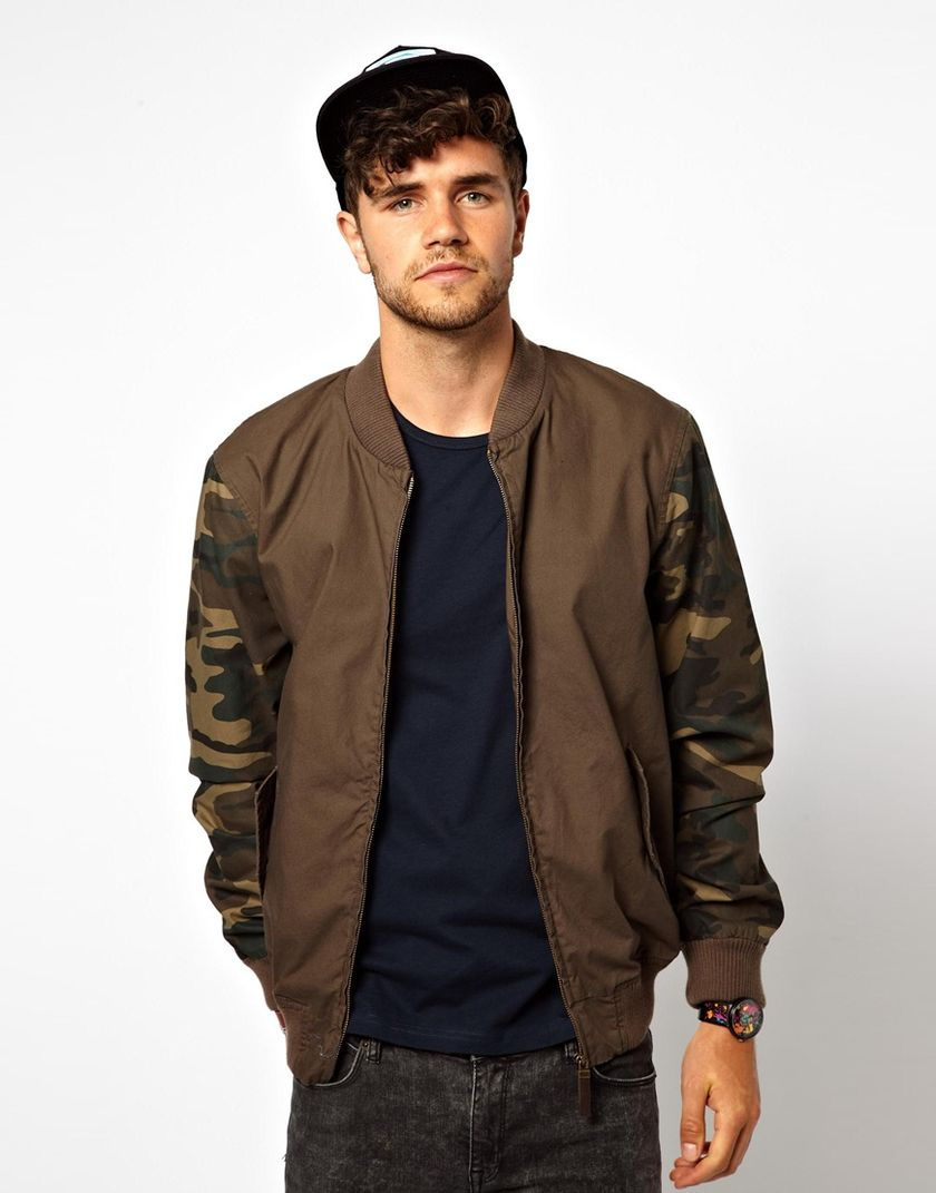 Top best model men bomber jacket outfit 20