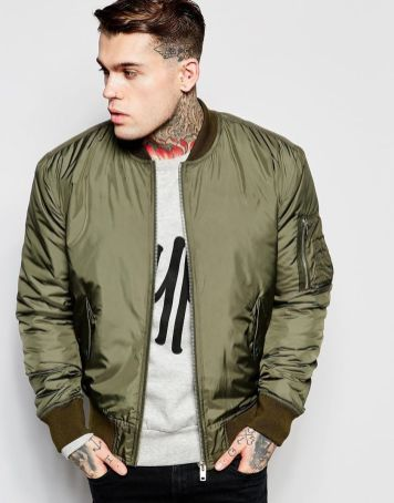 Top best model men bomber jacket outfit 28