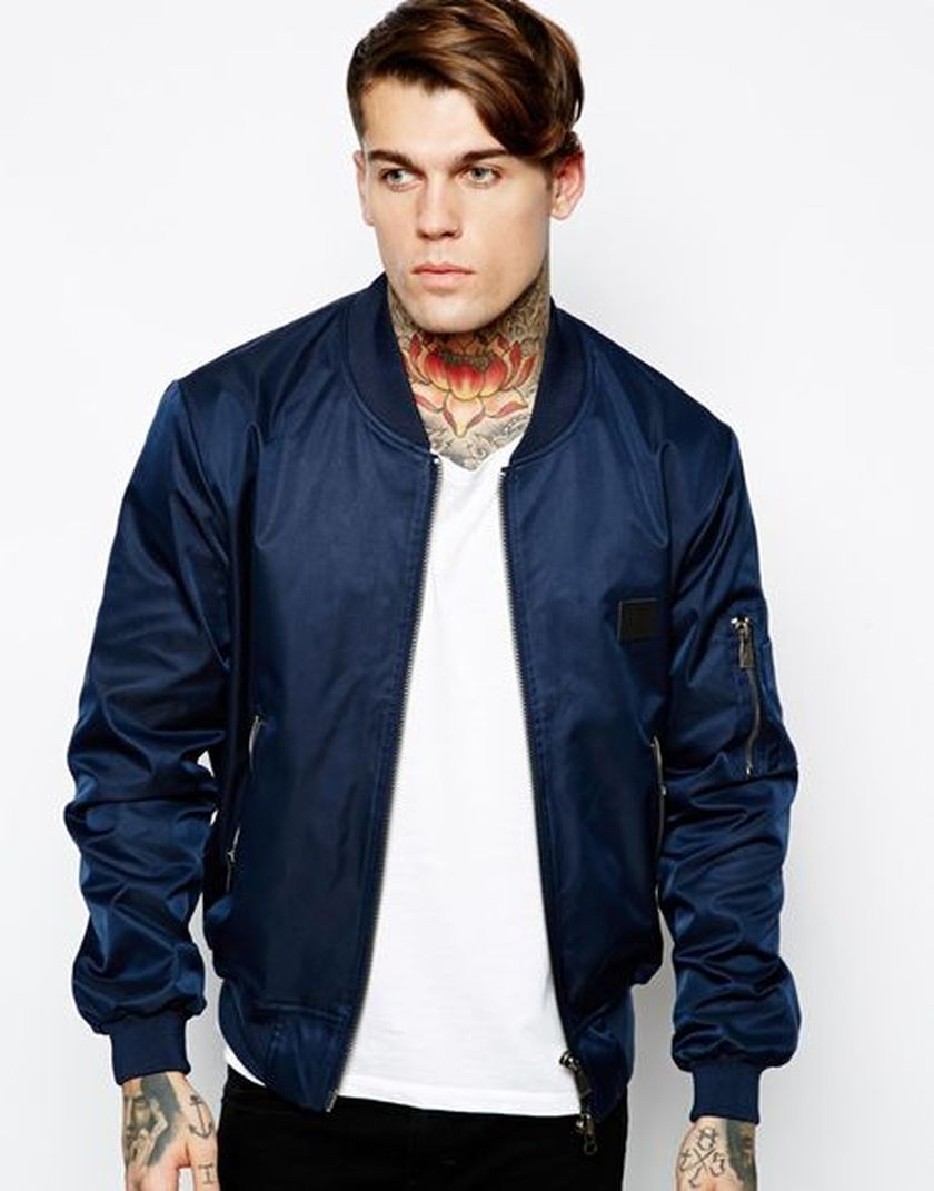Top best model men bomber jacket outfit 33