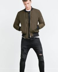 Top best model men bomber jacket outfit 4