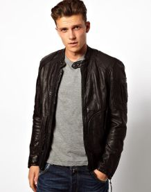 Top best model men bomber jacket outfit 7