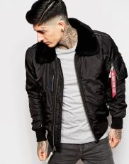 Top best model men bomber jacket outfit 73