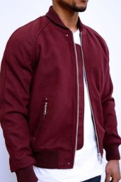 Top best model men bomber jacket outfit 82