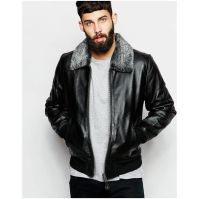 Top best model men bomber jacket outfit 92