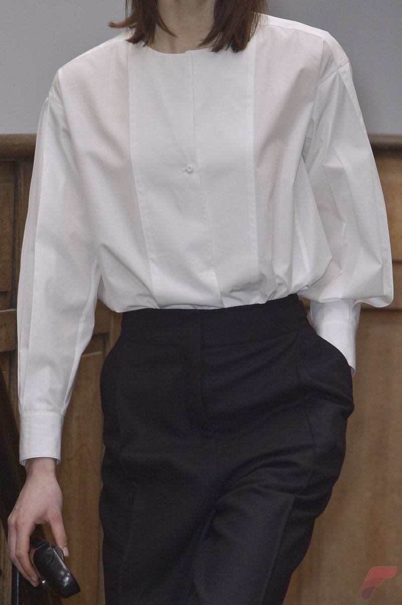 Women white shirt for work (309)