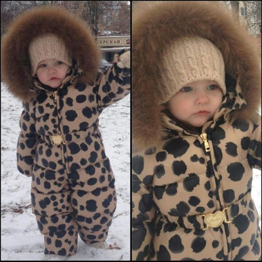 Adorable skiing outfit for your lovely kids 14