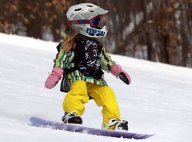Adorable skiing outfit for your lovely kids 6