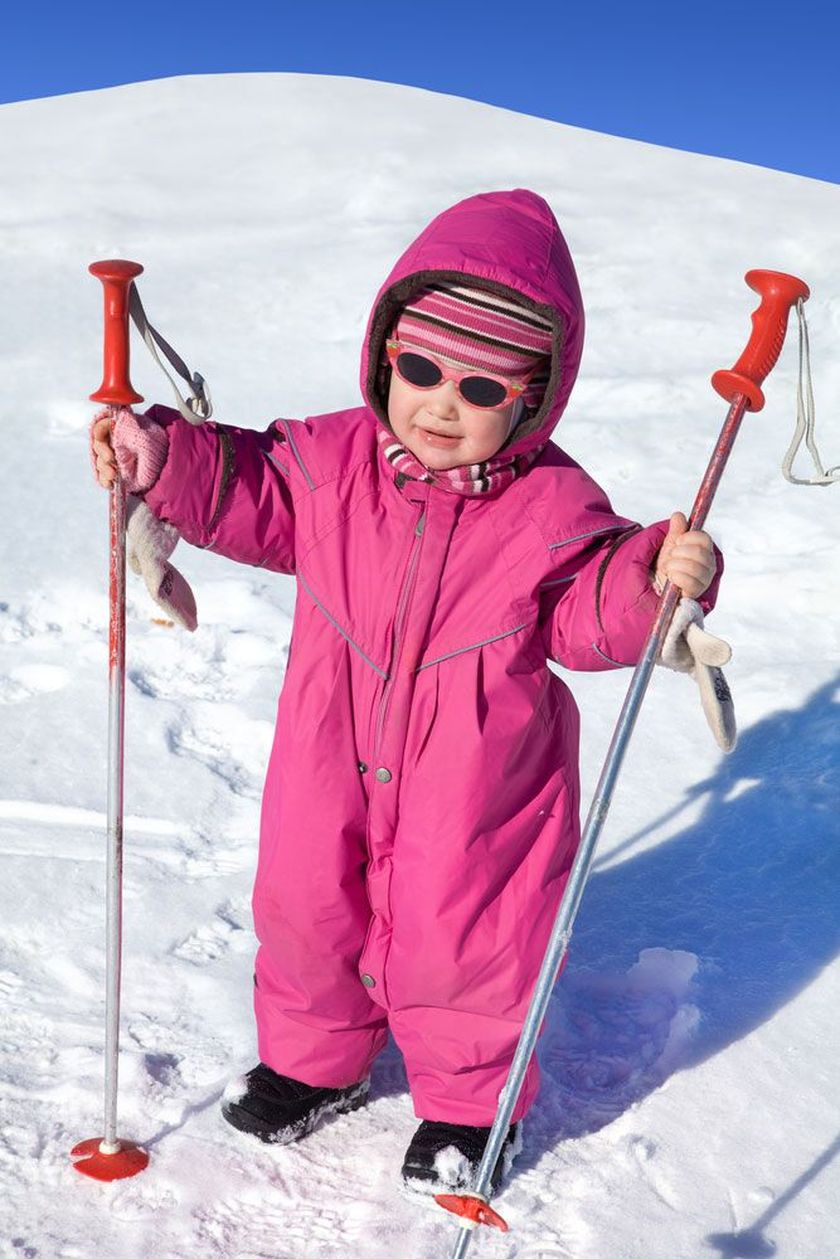 Adorable skiing outfit for your lovely kids 7
