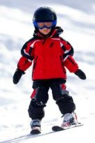 Adorable skiing outfit for your lovely kids 8